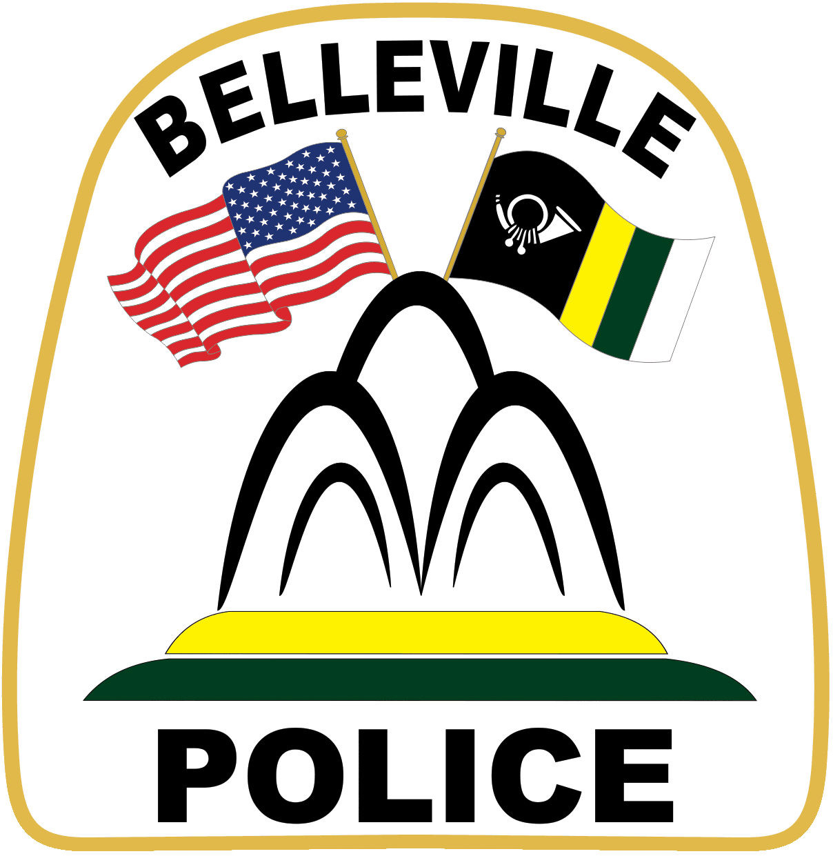 Belleville-Police-Patch PNG