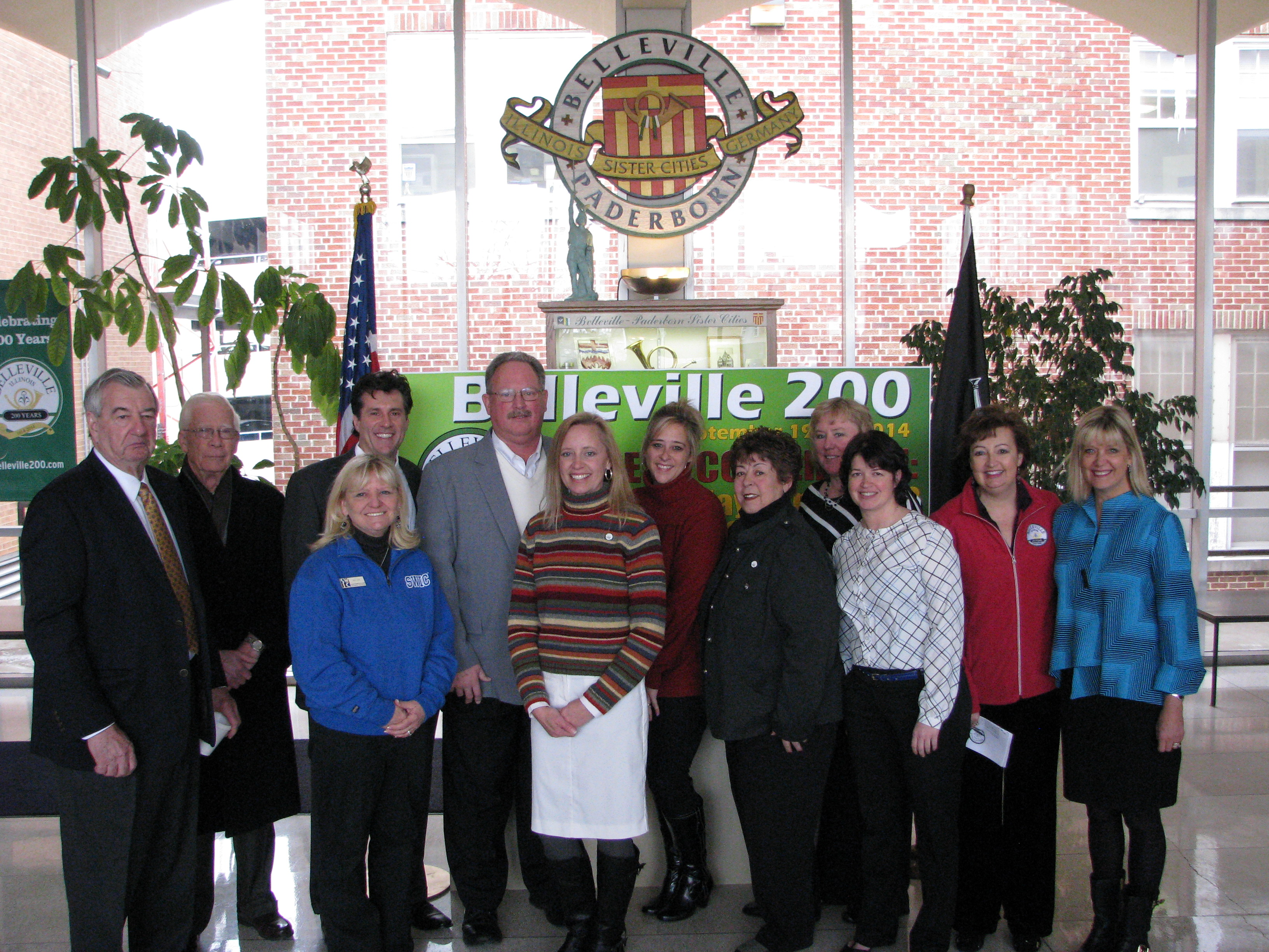 Members of the Belleville 200 Committee