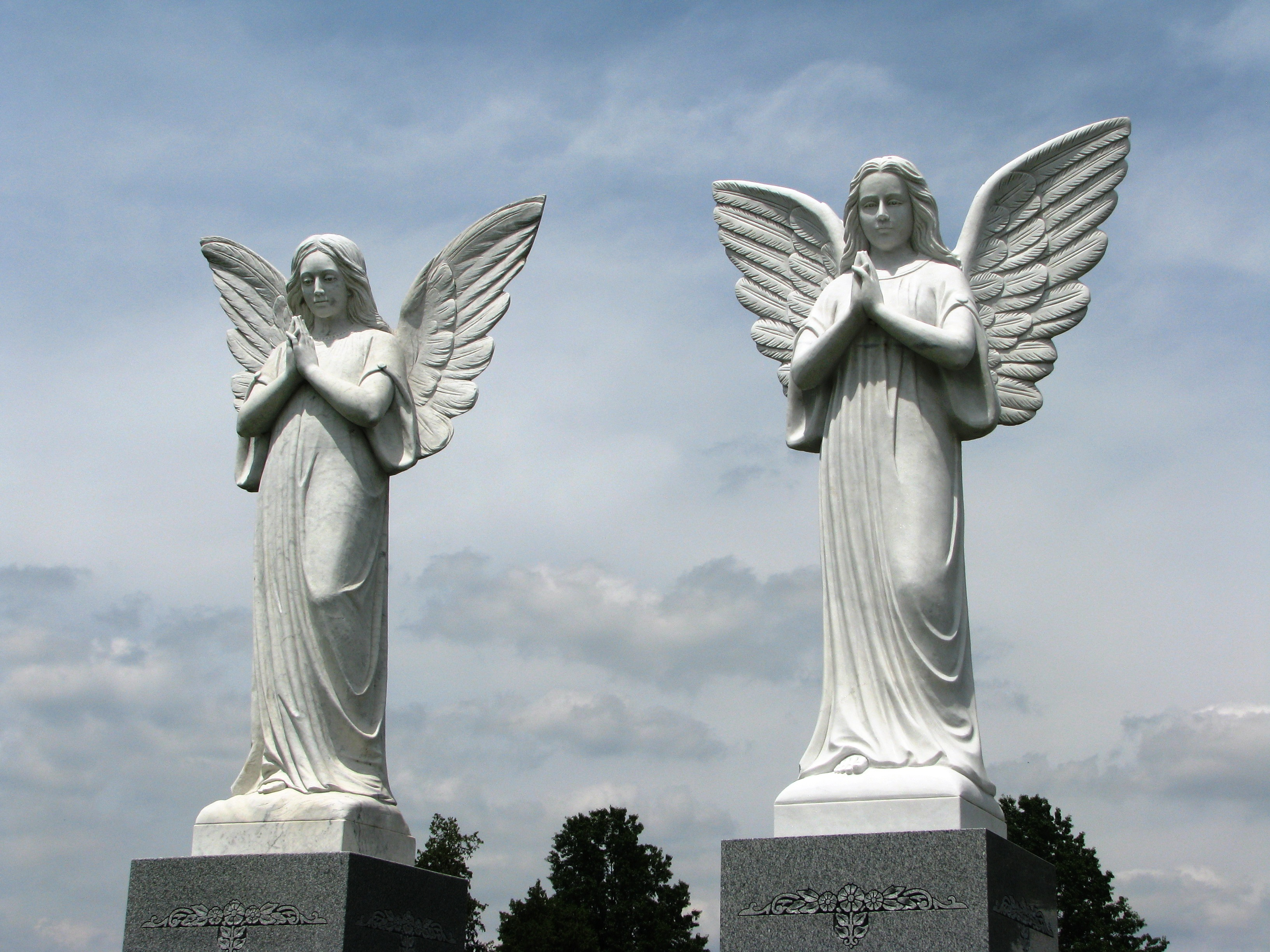 Guardian Angel Headstones