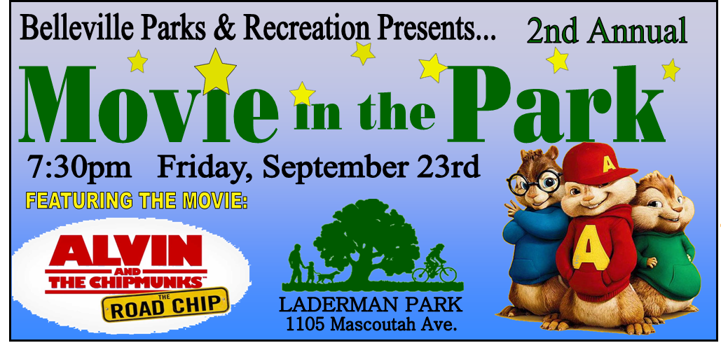 Movie in the Park Belleville Parks and Recreation Department